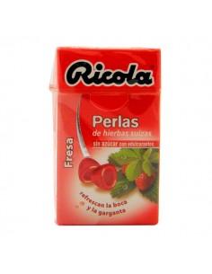 RICOLA PERLAS FRESA S/AZ 25 G