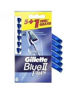 GILLETTE BLUE-II PLUS 5 U