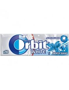 CHICLE ORBIT WHITE MENTA SUAVE