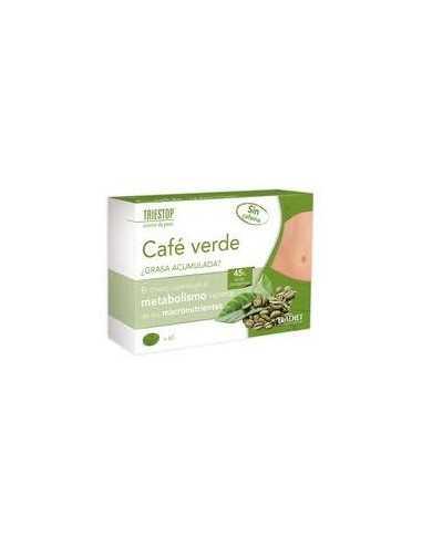 TRIESTOP CAFE VERDE 60 COMP ELADIET