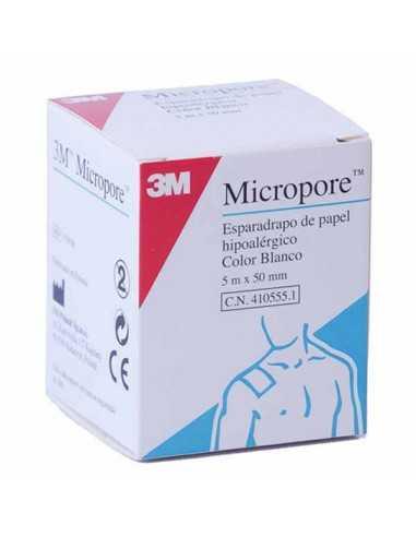 MICROPORE 5M X 5 CM ESPARADRAPO PAPEL...