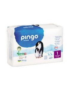 PAÑAL ECOLOGICO PINGO T/1...