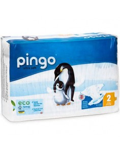 PAÑAL ECOLOGICO PINGO T2...