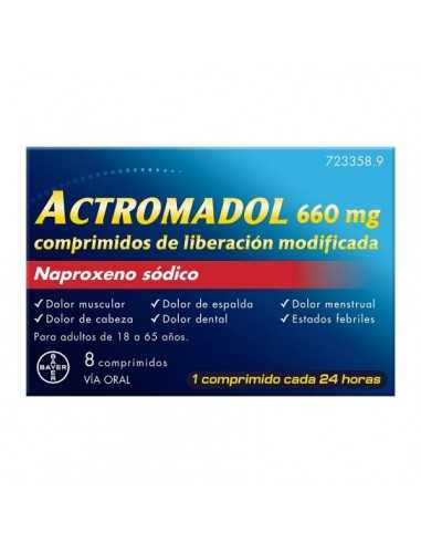 ACTROMADOL 660 MG 8 COMPRIMIDOS...