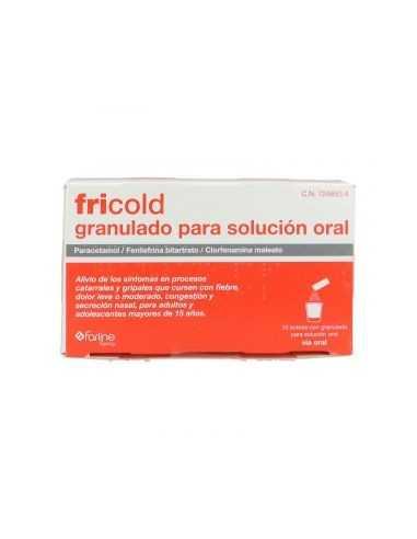 FRICOLD 10 SOBRES GRANULADO PARA...