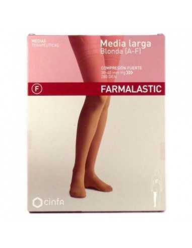 FARMALASTIC MEDIA LARGA CF T/M BLONDA...