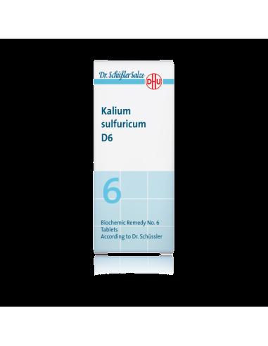 KALIUM SULFURICUM D6 (Nº6) 80...