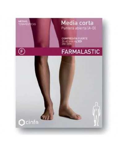 FARMALASTIC MEDIA CORTA CF T/P...